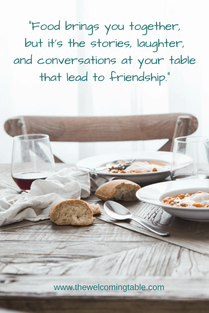 4 Reasons Why Inviting Dinner Guests Builds Friendships