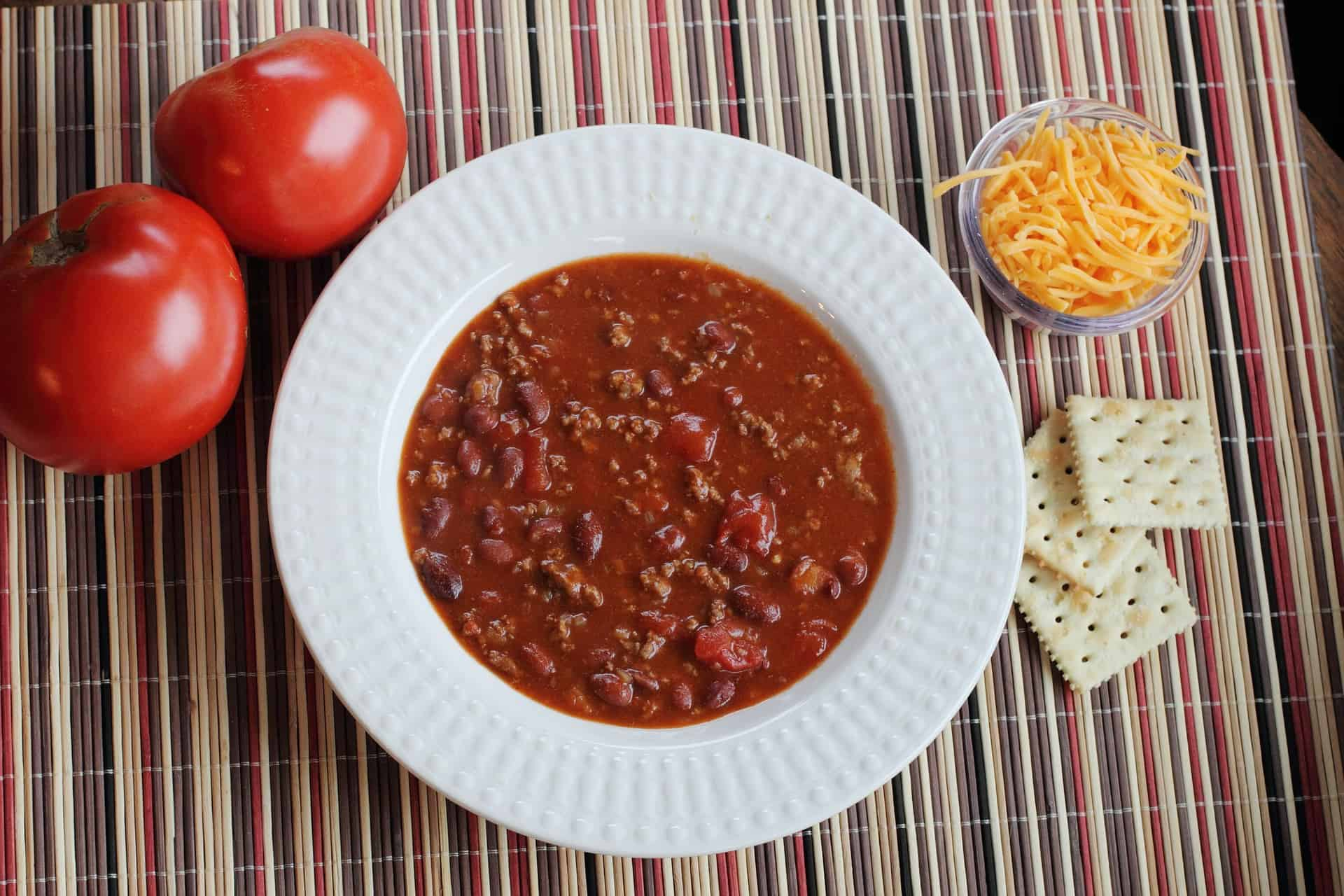 Top Secret Recipe's copycat recipe of Wendy's chili is one of my favorite easy recipes. Check out other recipes and menus on this post for your next casual dinner party.