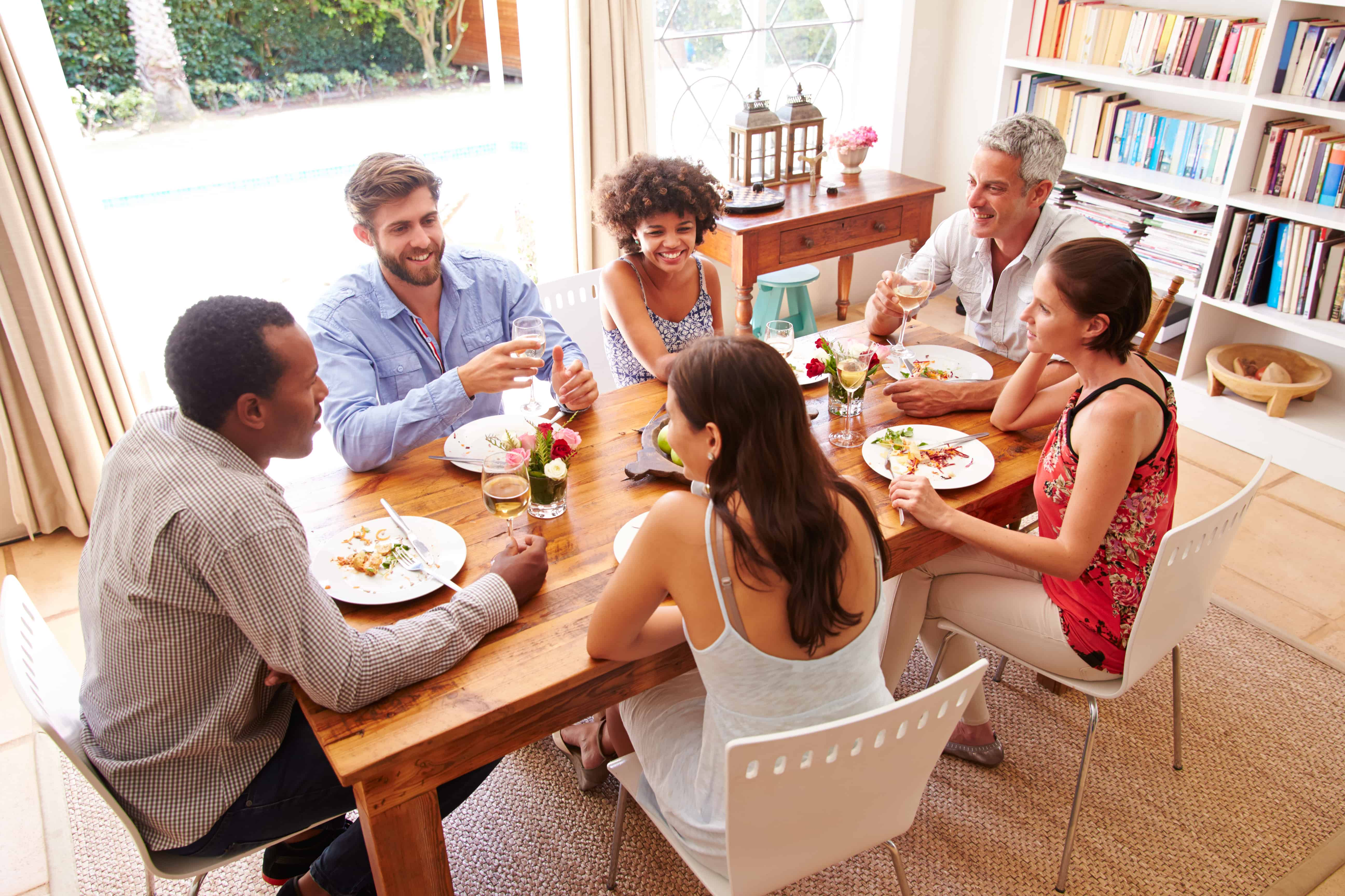 Building Friendships with Dinner Guests