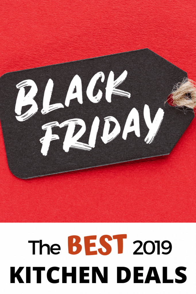 a red background with black tag that says Black Friday