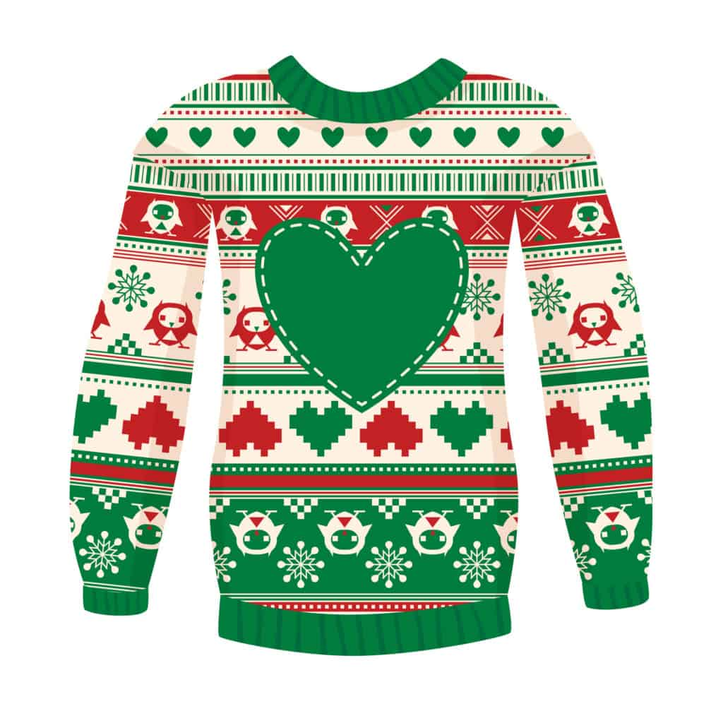 ugly christmas sweater christmas party theme