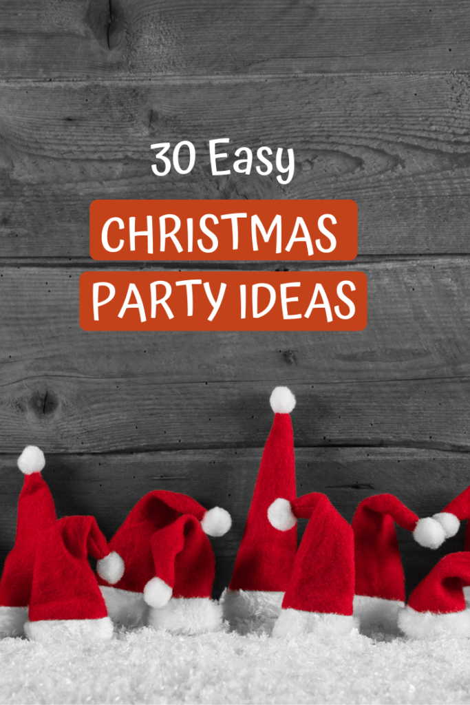 30 east christmas party ideas