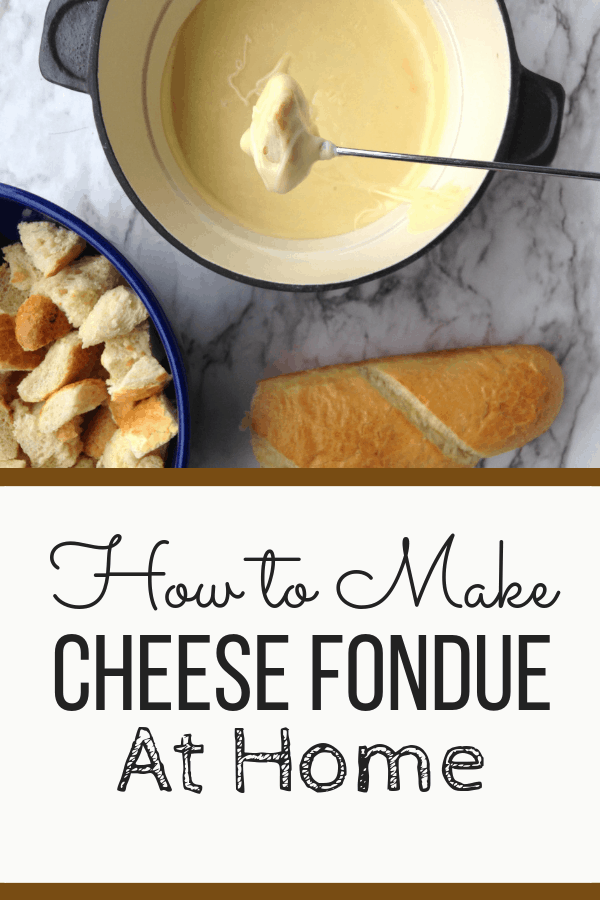 bread and cheese fondue you can make at home