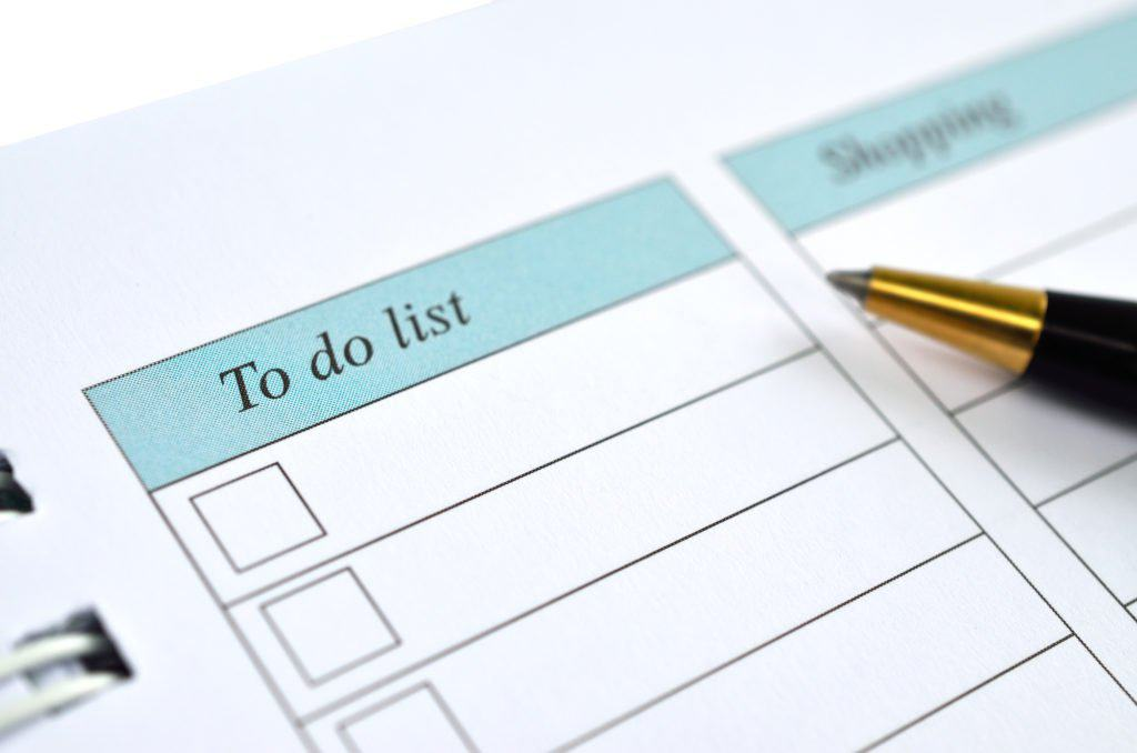 to-do list so you can make time for friends