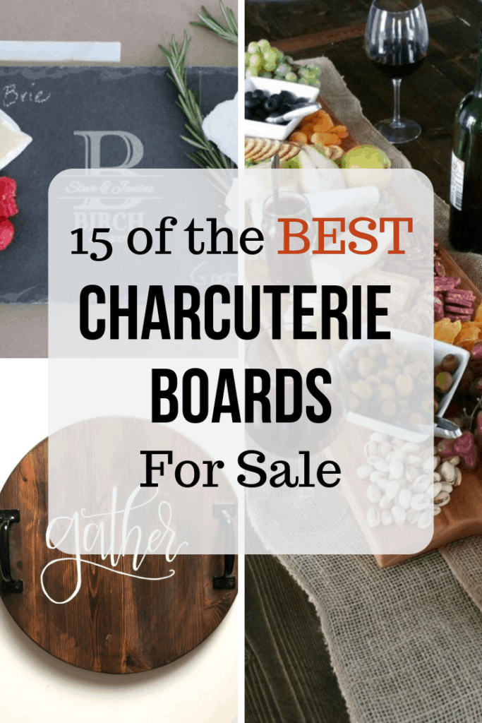 15 different charcuterie boards for sale