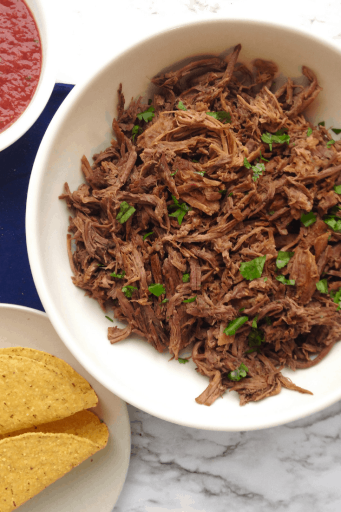 shredde mexican beef you can make in your instant pot/slow cooker