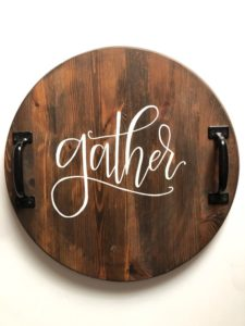 gather serving tray for sale