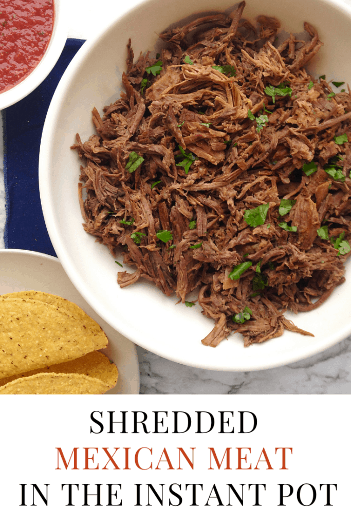 shredded mexican meat you can make in your instant pot