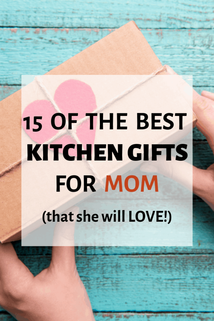 picture of a present -- kitchen gifts for mom