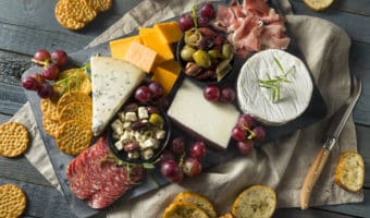 charcuterie board is a great thanksgiving appetizer