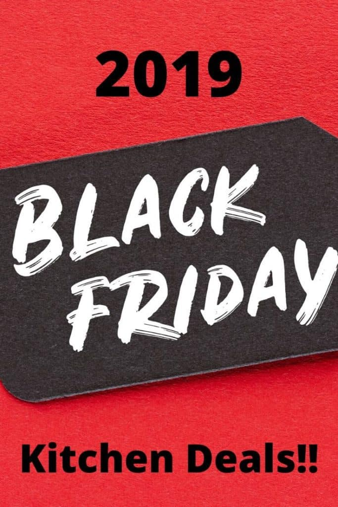 Black Friday kitchen deals