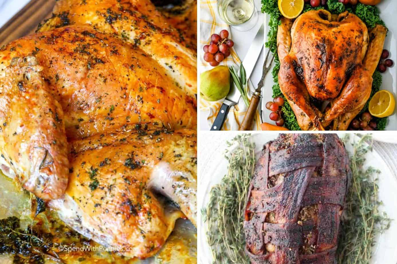 turkey for a basic thanksgiving menu made easy